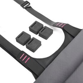 WOHO X-Touring Ohjaustangon kuivalaukku, honeycomb iron grey